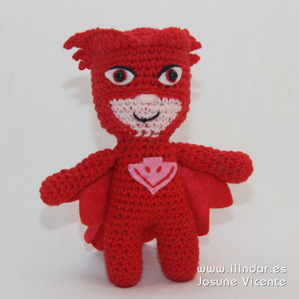Buhita PJ Masks crochet