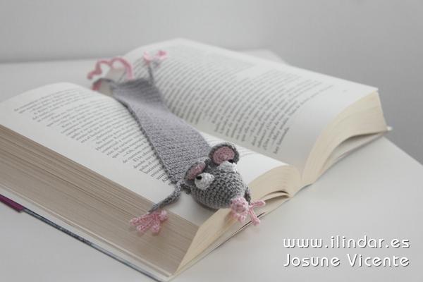 Marcapáginas ratón