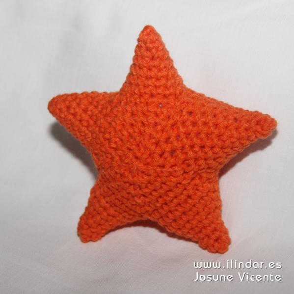 Estrella crochet (del móvil bebe mar)