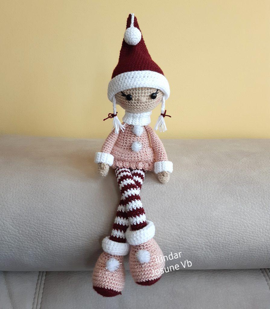 Duende navideño crochet