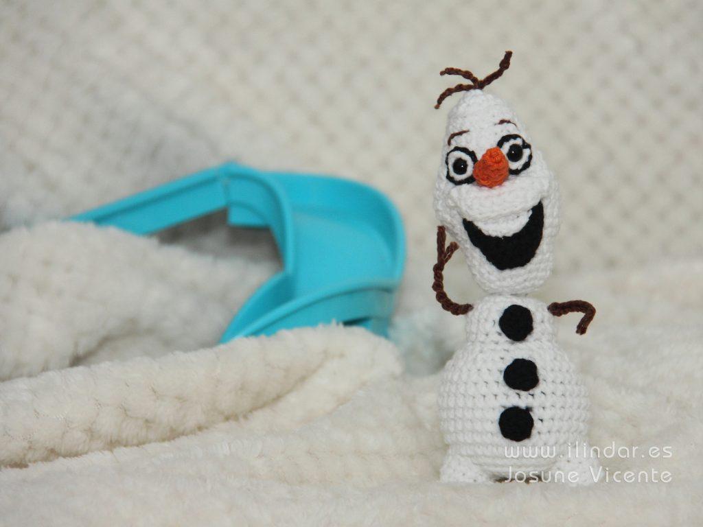 Olaf en crochet