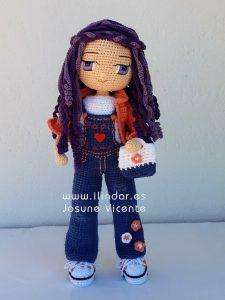 Muñeca Emma a ganchillo